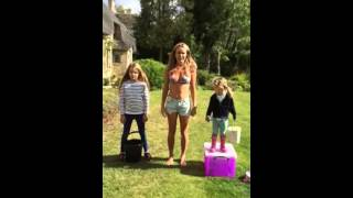 Amanda Holden #alsicebucketchallenge