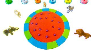 Learn Colors with Mad Mattr Watermelon Fruit Toys Nursery Rhymes Song For Kids