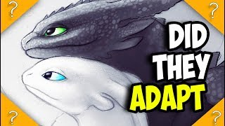 What if TOOTHLESS is a MUTATED Light Fury