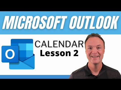 How to use Microsoft Outlook Calendar - Tutorial for Beginners