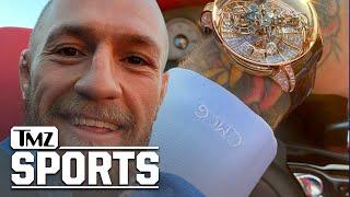 Conor McGregor Cops Insane $1 Mil Watch, '4-Satellite' Structure W/ Diamonds! | TMZ Sports