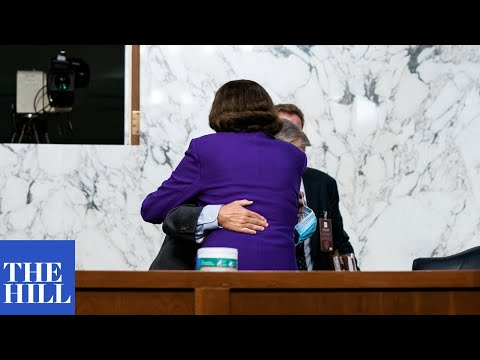 VIRAL MOMENT: Lindsey Graham and Dianne Feinstein share a hug at Senate hearing