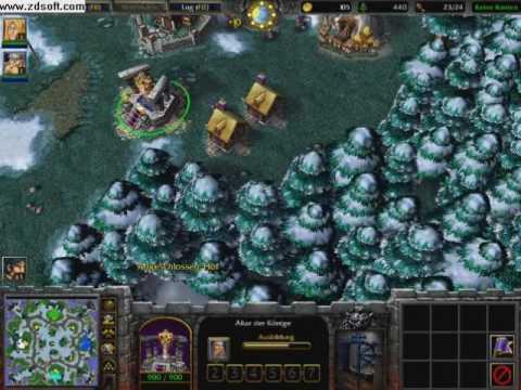 warcraft 3 frozen throne maps not working