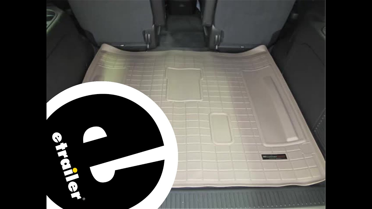 Review Of The Weathertech Cargo Floor Liner On A 2013 Chevrolet Tahoe Etrailer Com Youtube