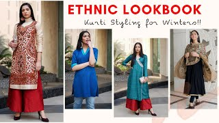 How to wear Indian Ethnic Wear in Winters | Part 1