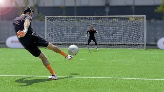 freekickerz vs Buffon - Ultimate Football Challenges