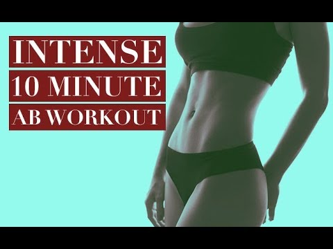 INTENSE 10 Minute Abs Workout (SHORT BUT GETS RESULTS!!)