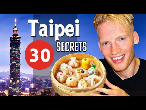 30 Secrets & Best Places in Taipei, Taiwan