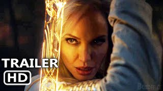 ETERNALS Official Teaser (2021) Angelina Jolie, Marvel Movie HD