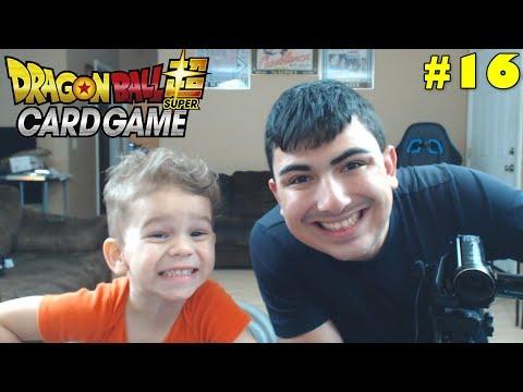 Super Saiyan Sibling Saturday! | Opening Dragon Ball Super Galactic Battle Packs With Lukas #16