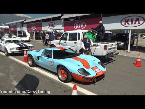 Feria Motor 2017 - On Board McLaren 650S & Ford GT40 and more