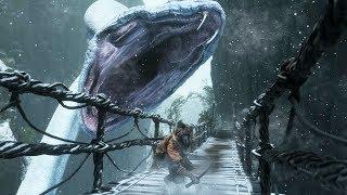 Sekiro: Great Serpent Boss Fight (World's First)