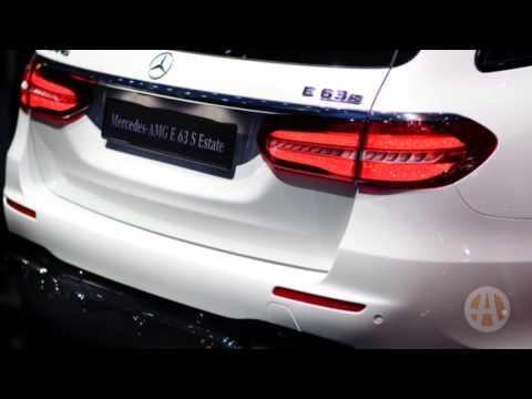 2018 Mercedes-AMG E63 S Wagon: Geneva Auto Show - Video