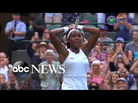 15-year-old tennis star upsets 5-time Wimbledon champ Venus Williams