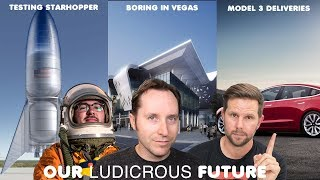 Ep 35 - Tesla's leaked Q2 Numbers, Boring Company heads to Vegas, and Starhopper gets ready to hop!