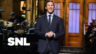Andy Samberg Impressions Monologue - Saturday Night Live