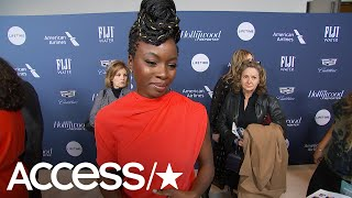 Danai Gurira Shares Her Excitement For A Successful Award Season For 'Black Panther'