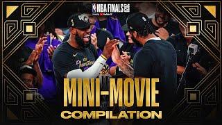 NBA Finals Mini-Movie FULL Compilation 🏆