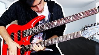 17 STRINGS Double Neck Bass Guitar Solo
