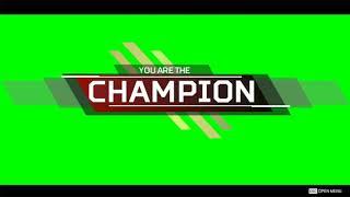 에이펙스 레전드 You are the Champion 그린스크린