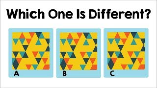 Test Your Intelligence: Only A Genius Can Find The Difference