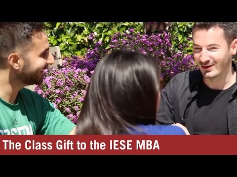 The Class Gift to the IESE MBA