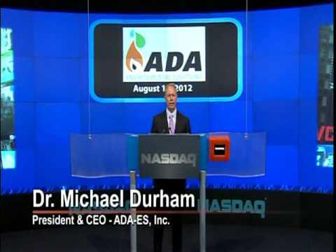 NASDAQ Closing Bell:  ADA-ES, INC. (ADES)