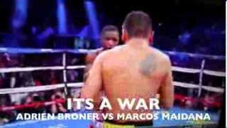 ADRIEN BRONER VS MARCOS MAIDANA FULL FIGHT WITH KNOCK OUT