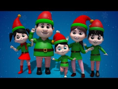 Elves finger family | Christmas finger family | xmas song | Christmas carols | Elf finger family