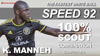 Pes 2019 mobile Fastest CF Speed 94 🔥easy scout combination
