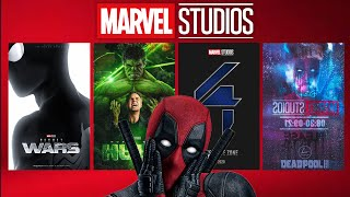 MARVEL STUDIOS NEXT 10 UNANNOUNCED FILMS Marvel Phase 5 Complete Slate Preview