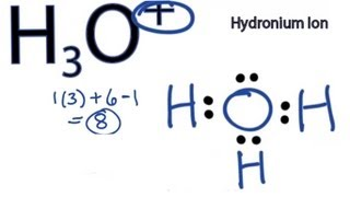 A step-by-step explanation of how to draw the H3O+ Lewis Structure.