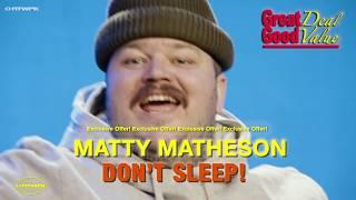 NTWRK x MATTY MATHESON