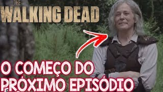 Assisti ao começo do Próximo episódio de The Walking Dead Ep 11 da 9 temporada com Sussurradores