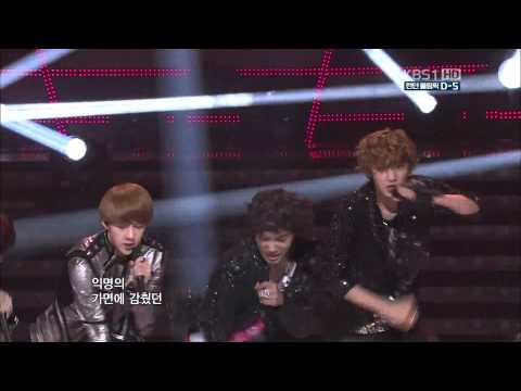 [HD] 120722 EXO-K - MAMA @ 2012 London Olympic Fighting Korea Concert