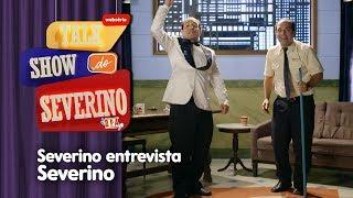 Severino Entrevista Ele Mesmo! | Talk Show do Severino | Detetives do Prédio Azul | Gloob