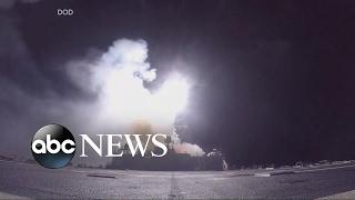 The strike on Syria's Shayrat air base