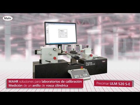 Precimar  ULM 520 S E  FI  cylindrcal thread ring gage  ES
