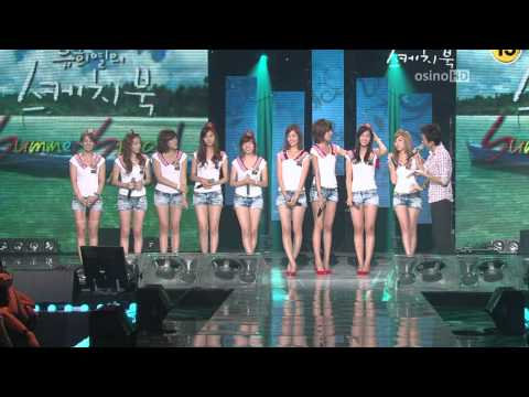 [09.08.01] SNSD - Tell Me Your Wish (Genie), Talk, Etude, Gee @ KBS2 Sketchbook