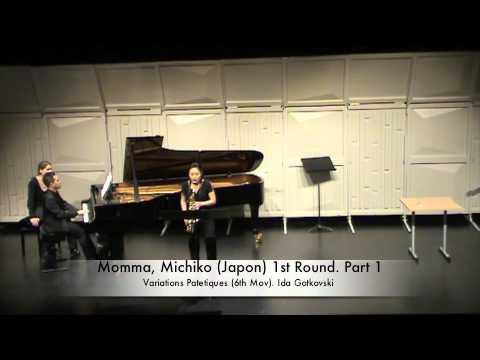 Momma, Michiko (Japon) 1st Round. Part 1