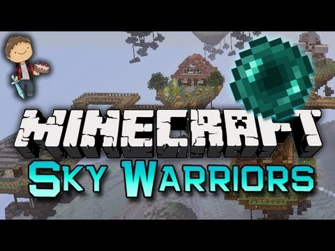 Minecraft: SKYBLOCK WARRIORS Mini-Game W/Mitch & Friends! - Smashpipe Games