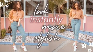 12 EASY STYLING TIPS TO LOOK INSTANTLY MORE STYLISH ♡ - YouTube