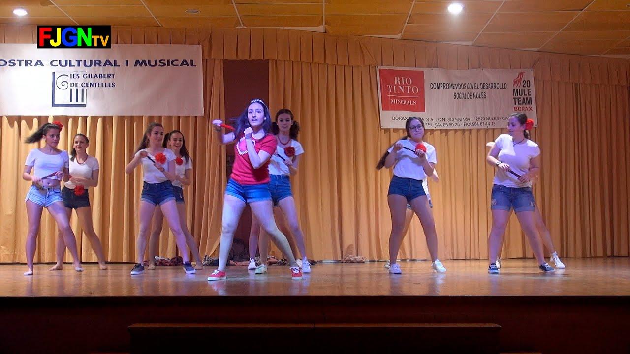 10. Solo se vive una vez/Antes muerta que sencilla/Toxic - Bailes Educacion Fisica 2016 IES Nules
