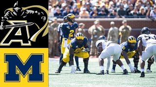 Army vs #7 Michigan Highlights (F/2OT) | NCAAF Week 2 | College Football Highlights