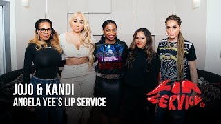 Angela Yee's Lip Service Feat. Jojo Zarur and Kandi Burruss