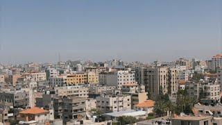 Gaza Strip amid Israeli-Palestinian conflict escalation