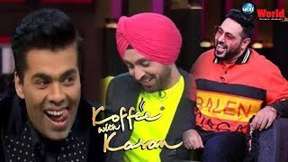 Koffee with Koffee 6:Diljit Dosanjh doesn't understand English properly, Badshah admits his mistakes