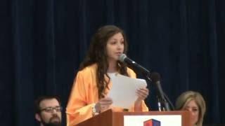 Katie's 8th Grade Graduation Speech