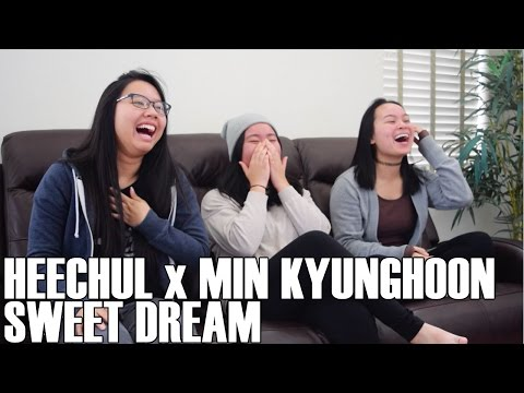 Heechul x Min Kyunghoon - Sweet Dream (Reaction Video)