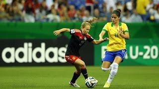 Brazil v. Germany, Canada 2014 HIGHLIGHTS